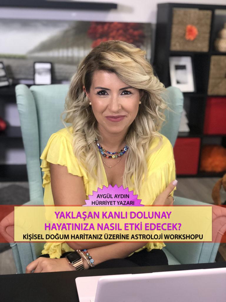 Aygül Aydın ile Astroloji Workshopu Gerçekleştirildi